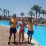 Manno, Mahmoud and I