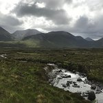 A view of the Cuillen Hills on a hike from the Sligachan Hotel.