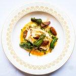 Roasted cod with chorizo