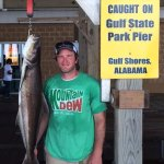 Caught on Gulf State Park Fishing and Education Pier