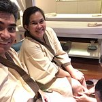 spa treatment - 3 hours massage and facial after lunch. relaxing!