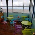 The café on the pier