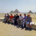 The Gizah pyramids