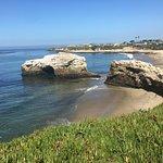 Photo de Natural Bridges State Beach