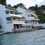 Villas along the shore... Used by a number of celebrities... cost starting at US$1000 per night