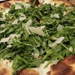 A Salute Pie- Arugula white pie is wonderful!