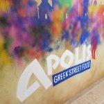 Wall art at Apolis