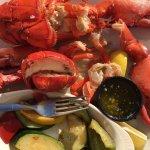 Twin Lobster... fresh.