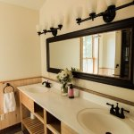 New bathrooms for lodge rooms