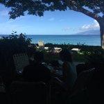 breakfast at the veranda (lanai)