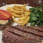 Our £22.50 bland steak with oven chips