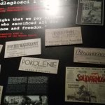 Headlines of news papers during the uprising