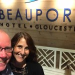 Celebrating our 33rd anniversary at the 1606 Beauport Hotel Restaurant