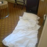 Yes - I slept on the floor because the bed was the worst I have ever encountered.