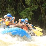 Rafting the Savegre River with the Amigos