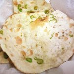 Naan with chilis