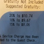 Surprise! Your meal now costs more! Dishonest.