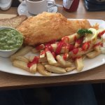 The best fish and chips I've had in years....