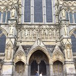 Front of cathedral (I think)
