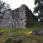 Toftaholm Manor. Ruins of medieval manor house.