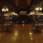 Main dining room of Glacier Park Lodge