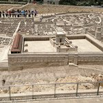 Scale model of first century AD Jerusalem.