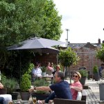 Our garden terrace. Enjoy the sunshine