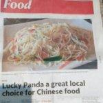 Photo of Lucky Panda