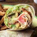 Fried Avocado Wrap
