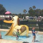 Safe pool & slide