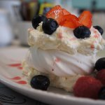 Something for your sweet tooth ( Summer fruit pavlova)