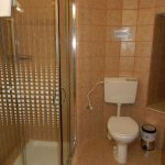Toilet and shower room in Gate Tower apartment