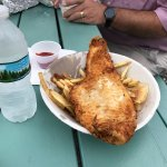 1/2 fish and chips