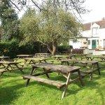 Relax in our beautiful beer garden over looking Chetwynd Deer Park
