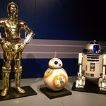 C-3PO, BB-8 and R2D2