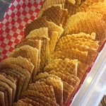 Waffle Wafers for Ice Cream Cups