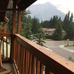 View of mountain from our 2nd floor room's deck