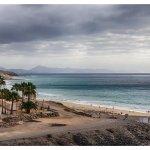 une des plages vue de l'hôtel