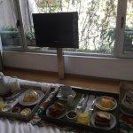 Desayuno en la habitacion !!