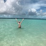 The most beautiful water was off Exuma Point!