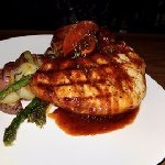 Bourbon Whiskey Thick Cut Pork Chop