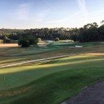 Le Golf avec le putting green et l'arrivée du 9