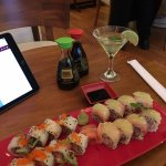 Sake mojito and the Citric Roll (r)