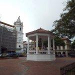 Catedral de Panamá en plena restauración.