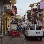 Calles del centro. Panamá.