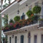 Bellísimos balcones en el Centro histórico de Panamá.