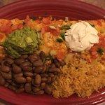 Vegetarian version of baja burrito.😋