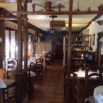 Quiet, elegant dining room