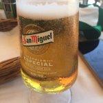 Caña helada de la marca San Miguel Especial