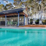 Pool and outdoor BBQ area